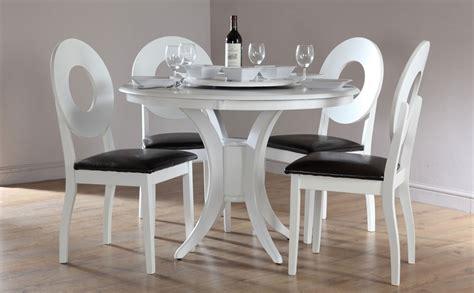 white  kitchen table  chairs decor ideas