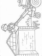 Bob Budowniczy Coloring Coloriage Colorir Bouwer Desenhos Construtor Dak Constructor Baumeister Dibujos Kleurplaat Ausmalbilder Bricoleur Kolorowanki Kleurplaten Builder Colorear Wydrukowania sketch template
