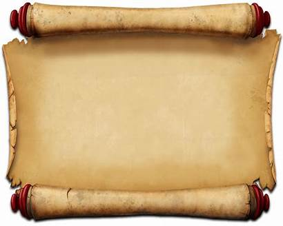 Letter Ancient Roll Scroll Clipart Transparent Pluspng