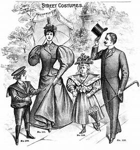 Father's Day Clip Art - Victorian Family - Dad - The ...