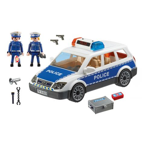 playmobil polizei auto playmobil 6920 squad car with lights and sound