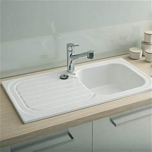 Evier Cuisine Ceramique : vier de cuisine allia espace aubade ~ Premium-room.com Idées de Décoration