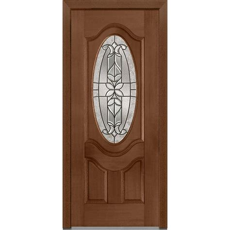exterior doors home depot milliken millwork 37 5 in x 81 75 in cadence decorative