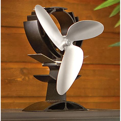 wood stove fans on top of stove ecofan heat powered wood stove fan 189975 fireplaces