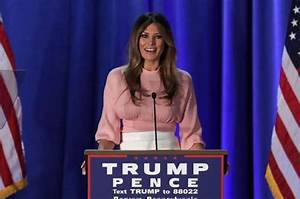 Melania Trump pledges to combat cyber-bullying as first ...