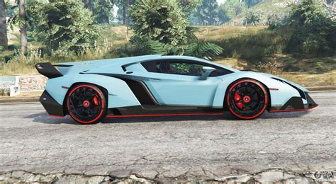 Lamborghini Veneno 2013 V1.1 [replace] For Gta 5