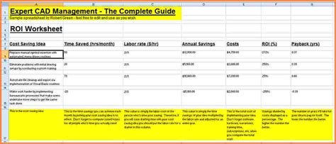 cost analysis spreadsheet excel spreadsheets group