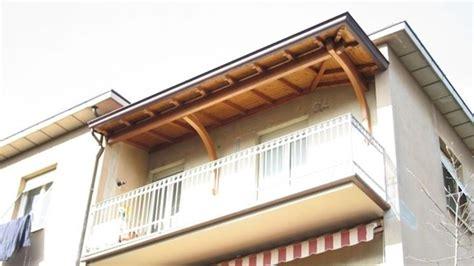 Tettoia Balcone by Tettoie Per Balconi Pergole E Tettoie Da Giardino Come