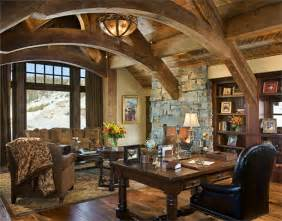 Stunning Country Home Office Ideas by Open Country Rustic Home Office By Jerry Locati