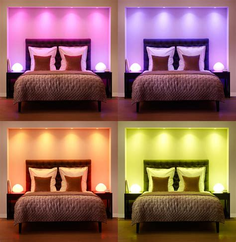 colored lights for room how to optimize your home lighting design based on color