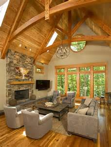 timber frame home interiors timber frame timber frame home interiors energy works