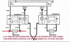 Power Window Switch Bypass