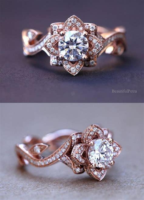 flower ring wedding promise