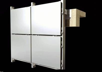Panel Aluminum Curtain Solid Panels Material Decorative