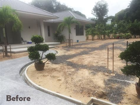 Thai Garden Design Ongoing Projects
