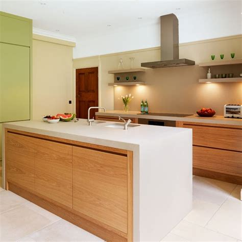 worktops a pale and minimal kitchen