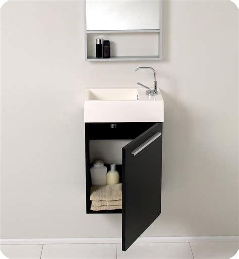 15 5 fresca pulito fvn8002bw small black modern bathroom vanity w mirror bathroom