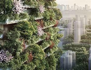 """Nanjing Vertical Forest: in Cina il """"gemello"""" del Bosco ..."""
