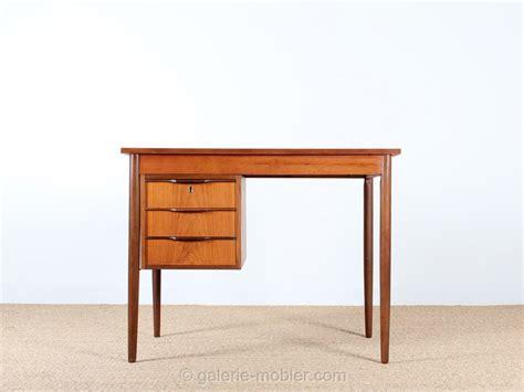 bureau teck petit bureau scandinave en teck galerie møbler