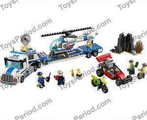 Lego 60049 Helicopter Transporter Set Parts Inventory And