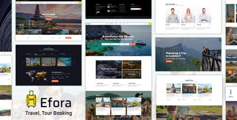 Travel, Tour Booking And Travel Agency Wordpress
