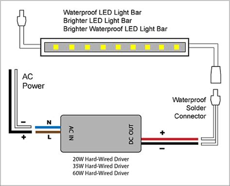 Light Led Bar Adapter Driver Wiring Diagrams