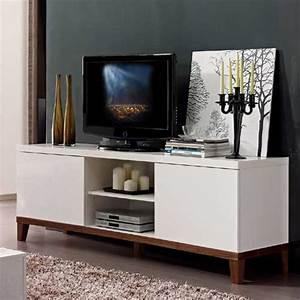 Meuble Tele Haut : meuble tv haut meuble tele d angle maisonjoffrois ~ Teatrodelosmanantiales.com Idées de Décoration