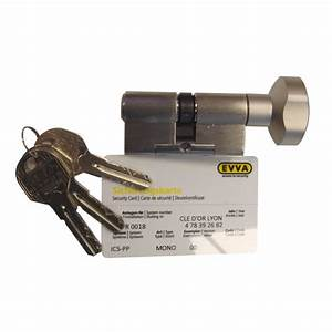 Cylindre De Sécurité : cylindre haute s curit evva ics bouton cl d 39 or ~ Edinachiropracticcenter.com Idées de Décoration