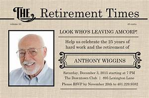 retirement flyer template free printable retirement With free retirement templates for flyers