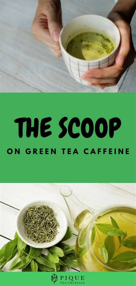 However, the coffee brewing process uses hotter water, which extracts more of the caffeine from the beans. The Scoop on Green Tea Caffeine | THE FLOW by PIQUE