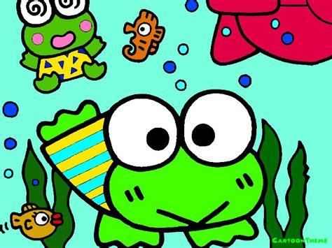 l character keroppi 大眼蛙专辑壁纸 第3张 欧美卡通壁纸 高清桌面壁纸