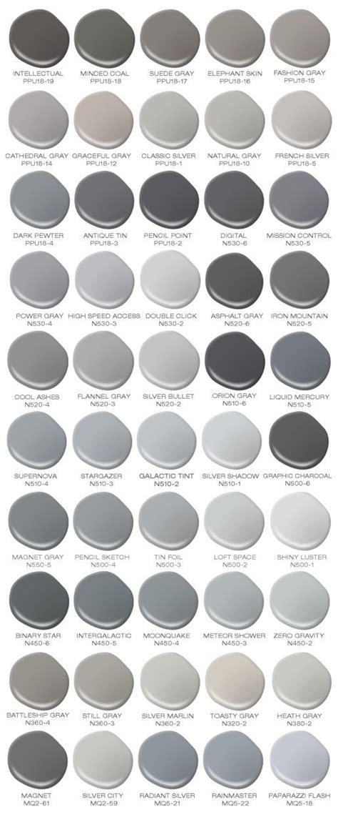 gray paint colors 25 best ideas about shades of grey on pinterest 50 grey of shades paint shades and gray