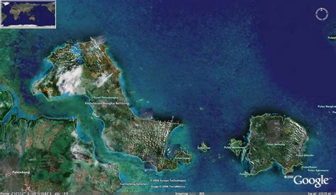 bangka belitung photo satelite