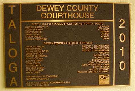 dewey county  courthouses