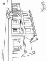 Coloring Tunnel Station Train Tgv Imprimer Coloriage Police Sheet Template Ausmalen Zum Designlooter Bahnhof Gratuit Meilleur Dessins Drawings Hellokids Transportation sketch template