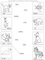ejercicios de completar palabras con silabas buscar con siie searching
