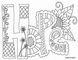 Doodle 1000 Coloring sketch template