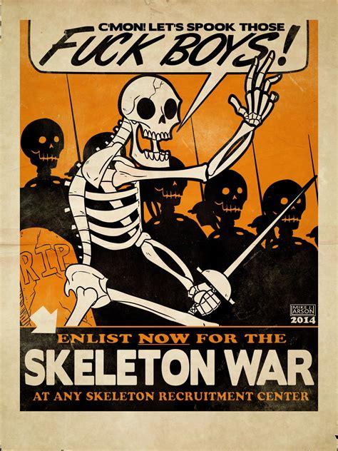 Skeleton Meme War Screams Skeleton War Your Meme