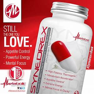 Rereleased Fat Burner Synedrex Coming To A Location Near You During Metabolic Nutrition U2019s