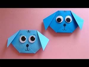 Basteln Aus Papier : origami hund falten mit papier einfachen hund basteln mit kindern diy origami tiere youtube ~ A.2002-acura-tl-radio.info Haus und Dekorationen