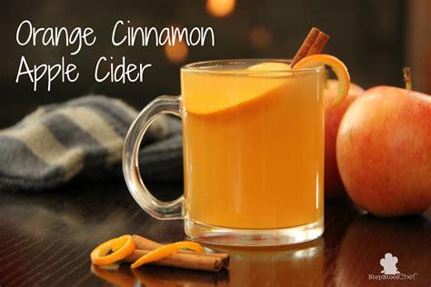 orange cinnamon apple cider healthy ideas  kids