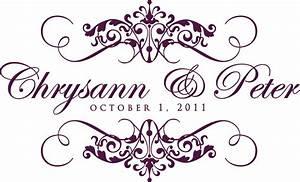 enchanting free wedding monogram templates gallery With free wedding monogram