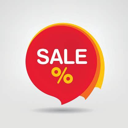 Discount Sticker Isolated Vector Illustration Seasons Sale ...