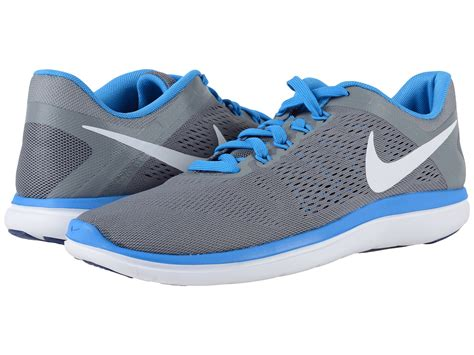 mesh breathable shoes blue nike flex 2016 rn in blue for lyst