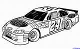 Coloring Race Printable Cars Nascar Boys Sheets Wars sketch template