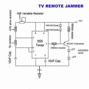 Electronic Circuits  Tv Remote Jammer Circuit