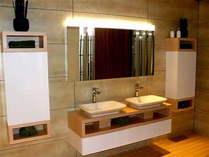 Badezimmer Beleuchtung Wand : beleuchtung im badezimmer planungswelten ~ Michelbontemps.com Haus und Dekorationen