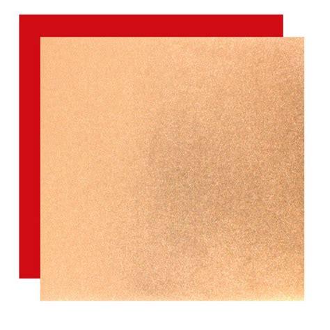 Double Color Metallic Papier Kupfer Mix 15 Cm, 8,90