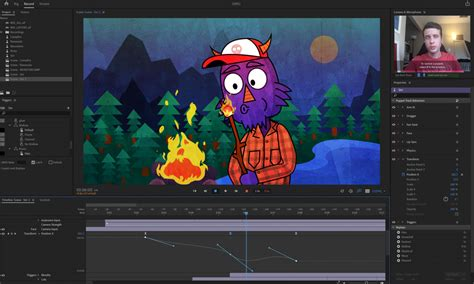 adobes character animator adds keyframes  greater