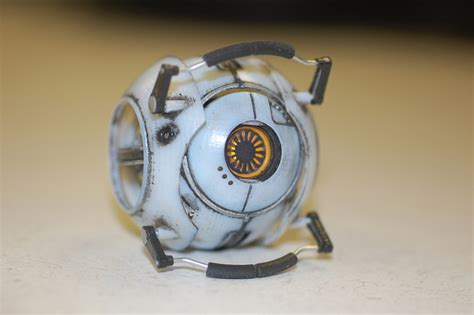 Portal 2 Personality Cores Replicas Created By Chris Myles